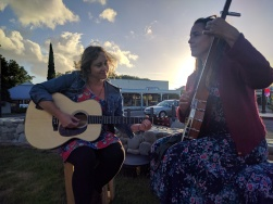 January's Featherston First Friday, featuring Abie Horrocks and Naomi Buttermilk