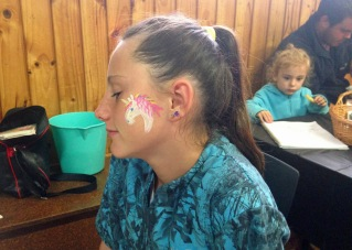unicorn face painting
