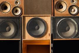 Steppa D's sound system!