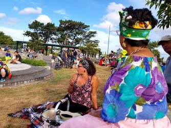 Featherston's tiny Brazilian community knows how to rock a Carvale frock